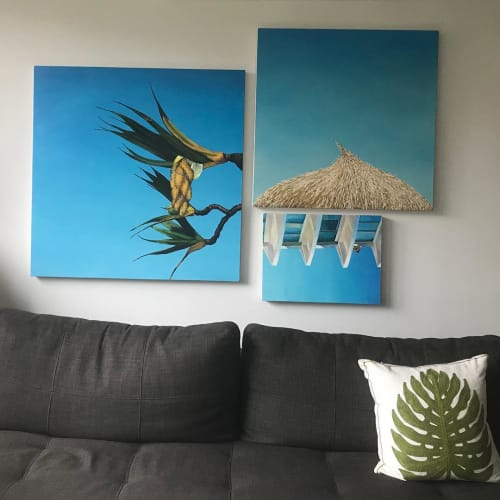 Paintings by Alexandra Hammond seen at Brooklyn, Brooklyn - Myriorama