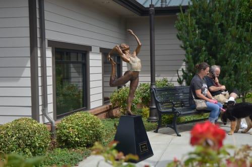 Sculptures by David Varnau seen at 229 Main St, Edmonds - Ananda