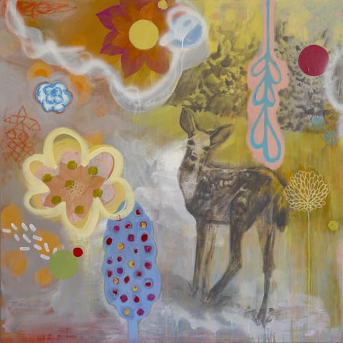 Art Curation by Katherine Baronet seen at Lisa Bennett Salon, Dallas - Lisa Bennett