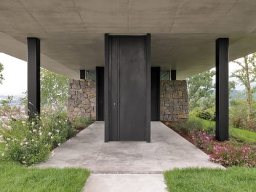 Architecture by Federico Delrosso Architects seen at Private Residence - Teca House