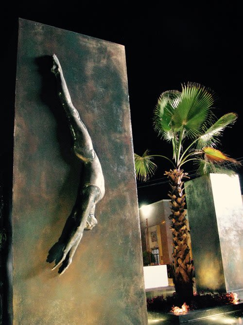 Sculptures by Carmen Jimenez seen at Private Residence, León - Memorial to Sports