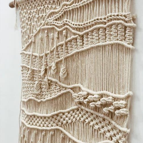 Macrame Wall Hanging by Rafty Crochet & Macrame seen at Java - Large Modern Macramé