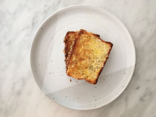Ceramic Plates by Jessie Lazar, LLC seen at Private Residence | New York City, NY, New York - Toast Plate