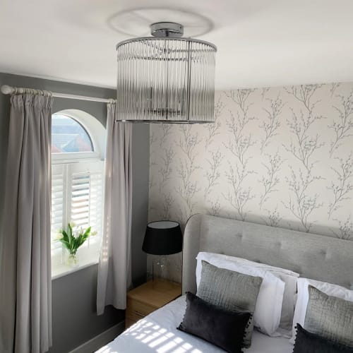 Wallpaper by Laura Ashley seen at Kier - The Rhodes Home, Doncaster - Wallpaper