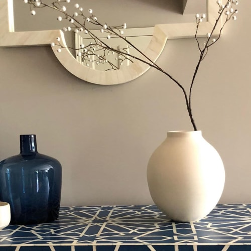 Vases & Vessels by Lucy Burley seen at Private Residence, Rowledge - Moon Jar