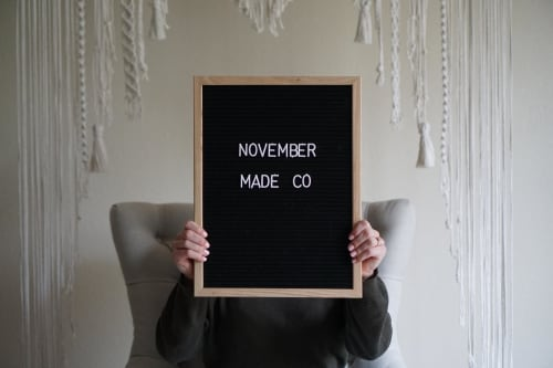 November Made Co. - Macrame Wall Hanging and Art