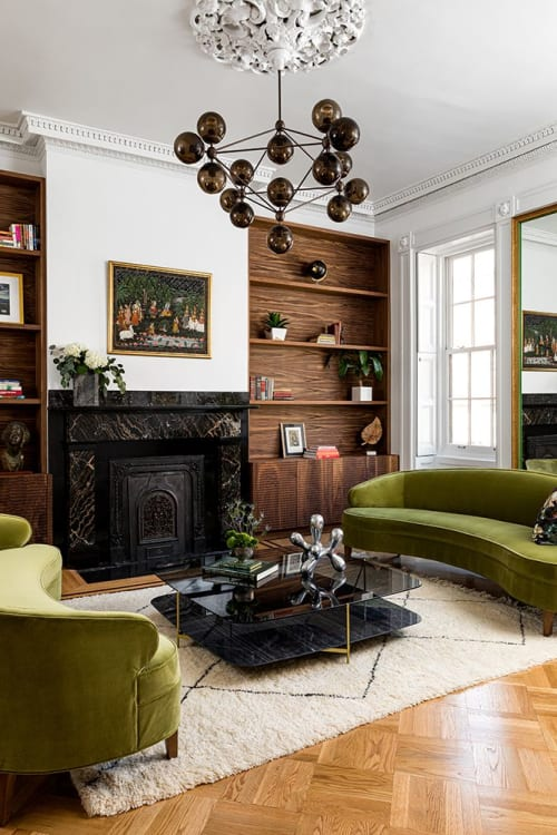 Interior Design by Ana Claudia Design seen at Private Residence, Jersey City, Jersey City - Jersey City Brownstone