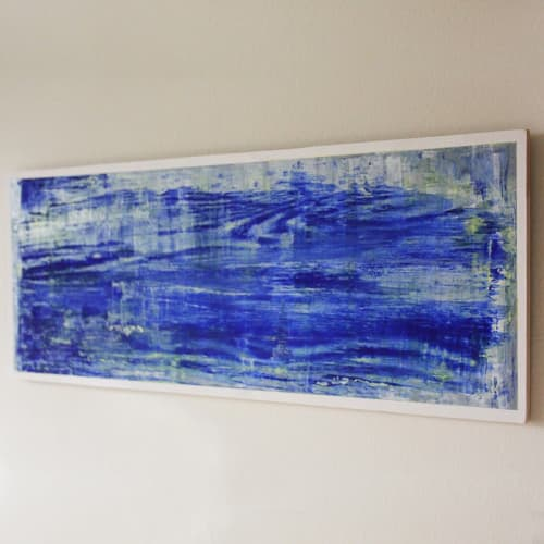 Paintings by Myrrhine Fabricius seen at Private Residence, Sydney, Sydney - At the River