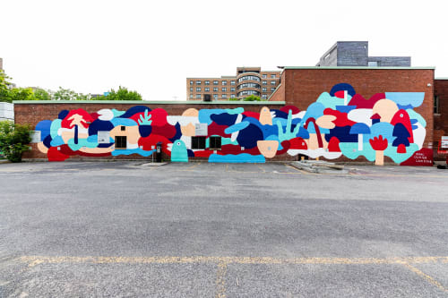 Marc-Olivier Lamothe - Street Murals and Paintings