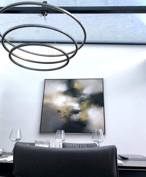 Paintings by Eelco Maan seen at Private Residence, London - Autumn balled