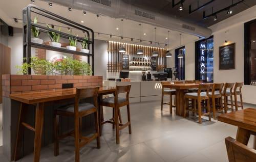 Interior Design by Rudhraksh designer seen at Private Residence, Surat - meraki the coffee house