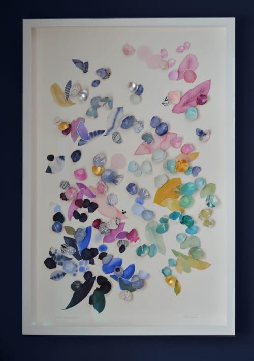 Art & Wall Decor by Elisa Sheehan seen at Creator's Studio, Stillwater - Kintsugi Eggshells Flourish 10