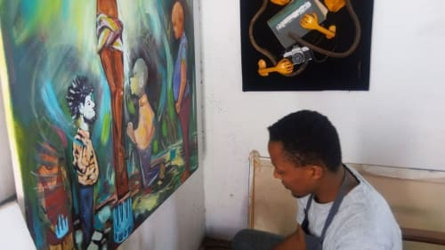 Dave Mucai - Paintings and Murals