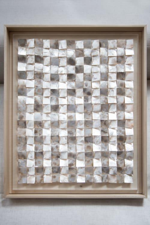 PLACUNA PLATA 02 | Sculptures by Erika Givens Art & Design