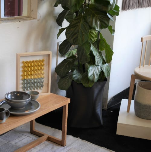 Vases & Vessels by Model No. Furniture seen at Wescover Gallery at West Coast Craft SF 2019, San Francisco - 402 Planter: Statement