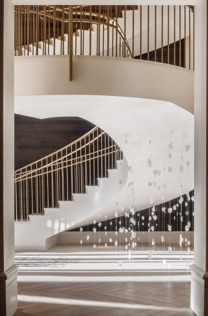 Art & Wall Decor by Jane Guthridge seen at The Elizabeth Hotel, Autograph Collection, Fort Collins - Suspended Light