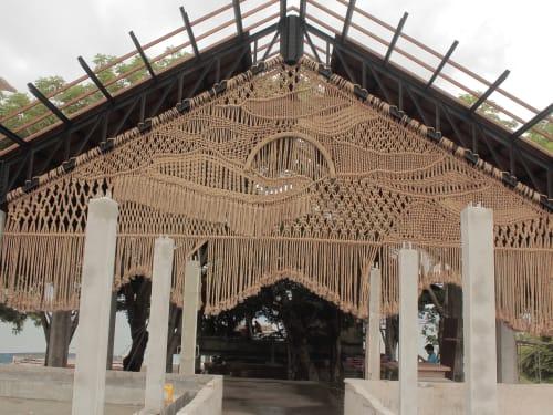 Sculptures by Agnes Hansella seen at Jimbaran HUB - SUNSET
