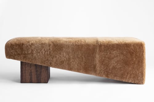 Benches & Ottomans by Cuff Studio seen at Creator's Studio, Los Angeles - Block Bench