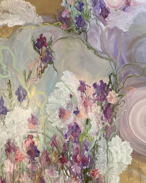 Paintings by Amanda M Moody seen at Private Residence, Fort Mill - fairytale