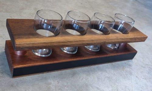 Beer Flight Racks   Tableware by Todd Alan Woodcraft