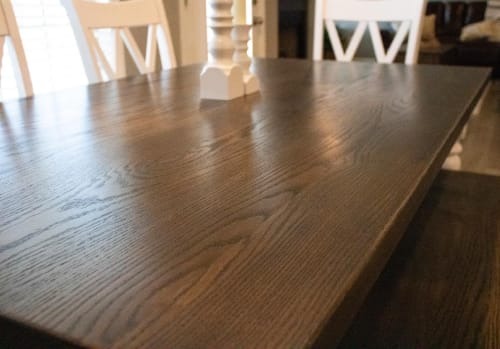 Tables by Clines Crafted Woodworking LLC - Farmhouse Dining table