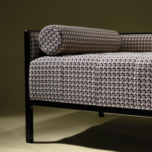 Couches & Sofas by Luisa Peixoto Design seen at Private Residence - Diamond Chaise Lounge in Jacquard