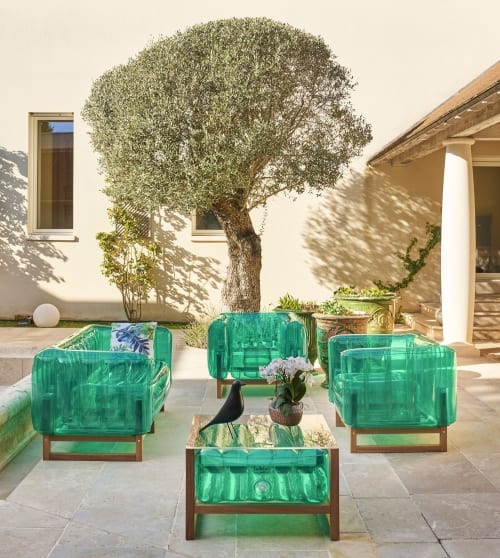 Chairs by MOJOW seen at Private Residence, Tours - YOMI EKO Wood Chair