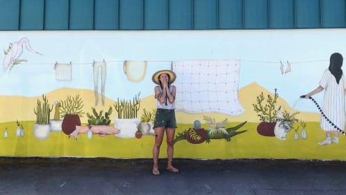 Katherine Rutter - Murals and Street Murals
