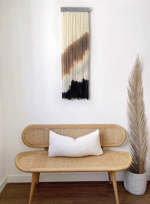 Wall Hangings by Kait Hurley Art seen at Private Residence, Los Angeles - Coal