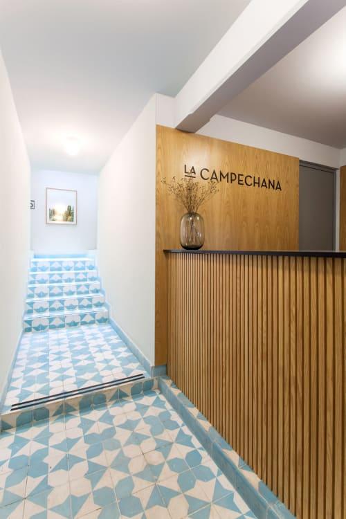 Interior Design by Comite de Proyectos seen at LA CAMPECHANA, Ciudad de México - La Campechana