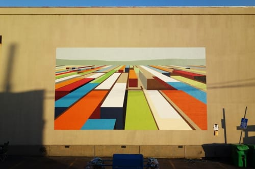 Street Murals by Mary Iverson at Allport Editions, Portland - Expanse