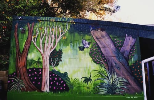 Claire Rye - Street Murals and Public Art