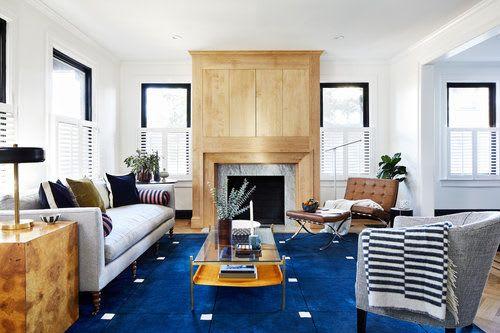 Interior Design by Zoe Feldman Design seen at Private Residence - Cleveland Park House Interior Design