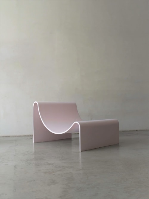 Benches & Ottomans by Asa Pingree at Luxe Magazine, Mandeville - Knockabout Lounge Chair
