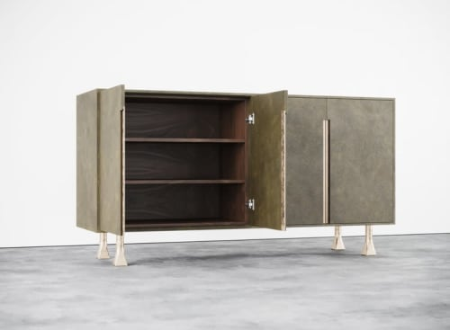 Furniture by Aguirre Design seen at Private Residence, New York - Spaniol Cabinet