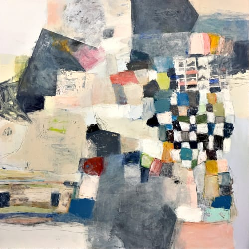 Paintings by Terri Froelich Fine Art at Private Residence, Denver - Now Let's All Play