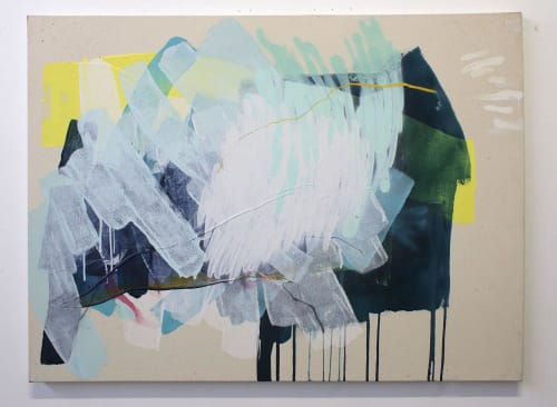 Paintings by Heather Day seen at Hospital for Special Surgery, New York - Bright