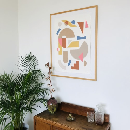 Paintings by Don Drawings seen at Private Residence, IJburg - When in Rome