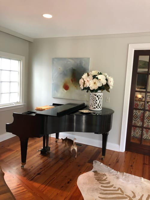 Paintings by Mel Rea seen at Private Residence, Lexington - Turning the Corner