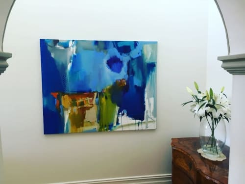 Paintings by Rob Forlani seen at Private Residence, Perth - 'Magnetize'