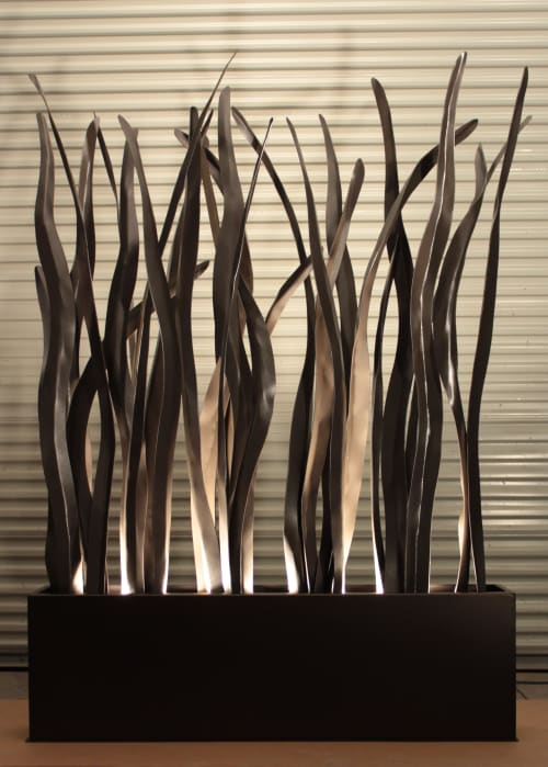 Sculptures by Creative Edge Hospitality Art seen at Embassy Suites by Hilton Saratoga Springs, Saratoga Springs - Freestanding Botanical Sculpture