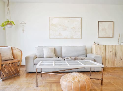 Paintings by Kaleen Cameron seen at Private Residence, San Francisco - Ochre Collection