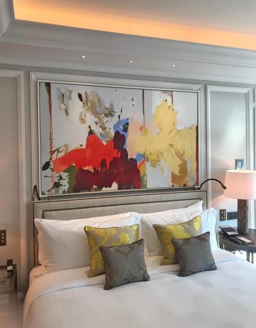 Art Curation by Helen Ballardie seen at Belmond Cadogan Hotel, London - Belmond Cadogan Hotel