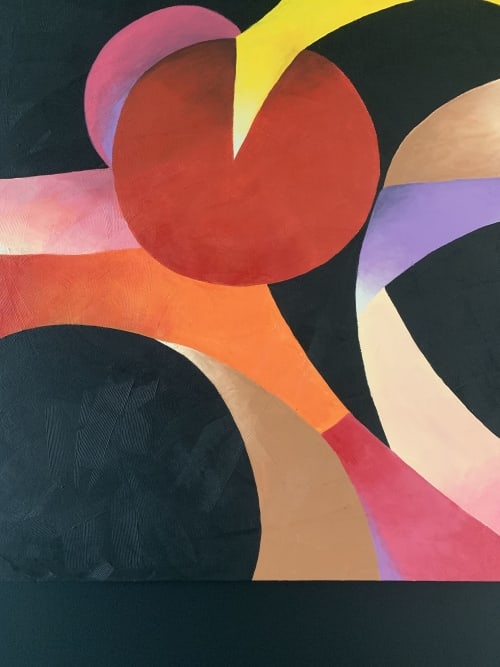 Paintings by Catherine Détraves seen at Private Residence - Manhattan Beach, CA, Manhattan Beach - Here Comes The Sun