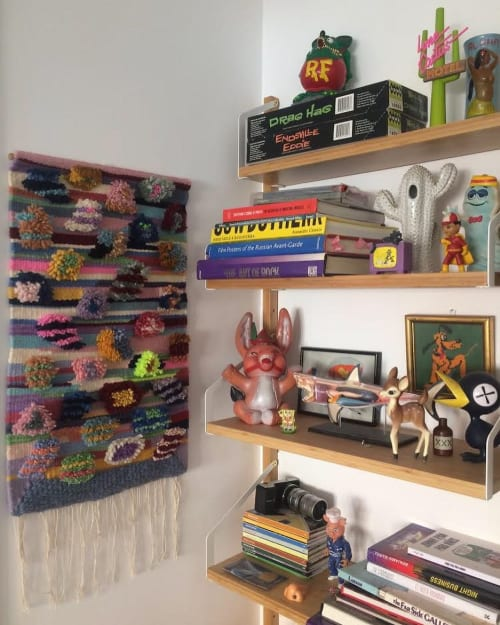 Wall Hangings by Chinchilla by Luna Muñoz seen at Private Residence, Barcelona - Kahuna weaving