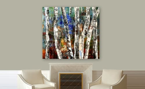 Paintings by Adam Shaw Studio seen at Santa Fe, Santa Fe - Sisters