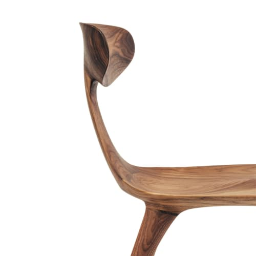Chairs by Munson Furniture seen at Bay Area Made x Wescover 2019 Design Showcase, Alameda - Miranda Chair in Walnut