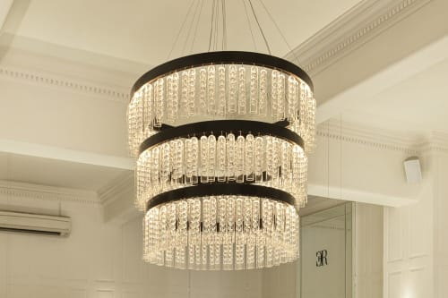 Chandeliers by ILANEL Design Studio P/L seen at Charles Rose Jewellers - Bourke Street, Melbourne, Melbourne - Wisteria