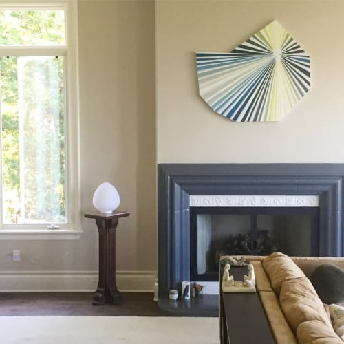 Paintings by Victoria Wagner seen at Private Residence, San Rafael - Apollo