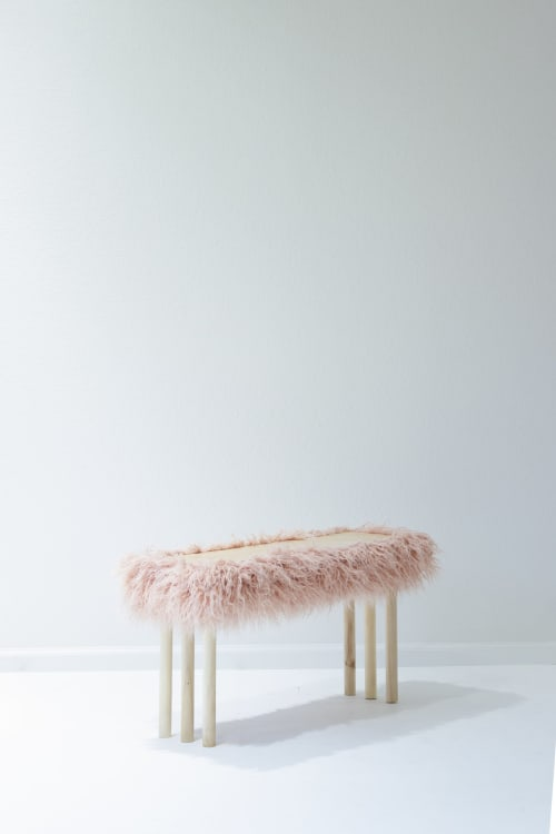 Benches & Ottomans by soft-geometry seen at Private Residence, San Jose - Fluff Bench Jr.